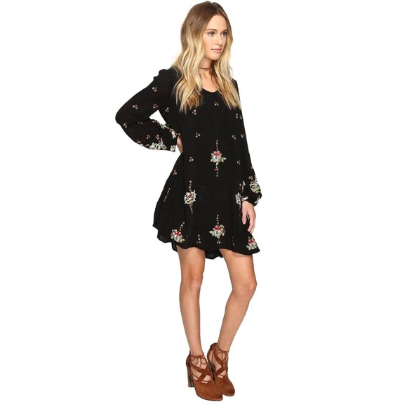 Free People Dresses & Skirts - [Free People] Oxford Embroidered Mini Dress